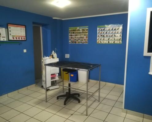 Salle de consultation clinique vétérinaire Laloubère Tarbes