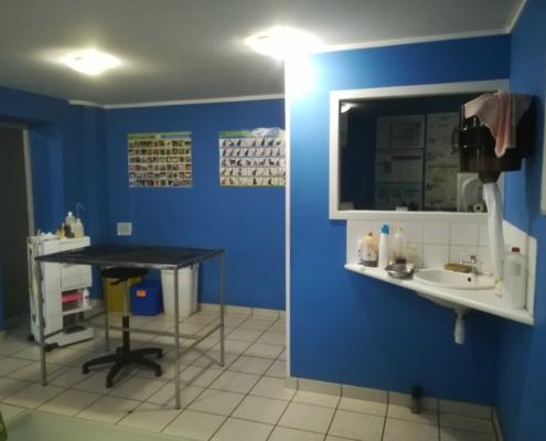 Salle de consultation clinique vétérinaire de l'aérodrome Laloubère Tarbes