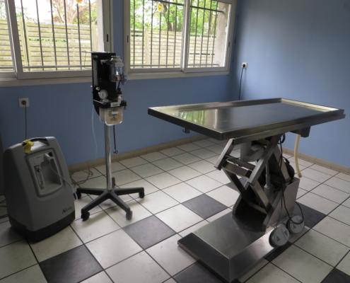 salle de chirurgie clinique vétérinaire Laloubère Tarbes